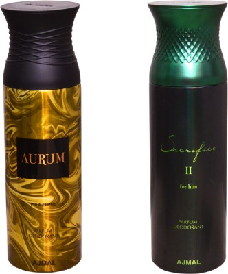 AJMAL 1 AURUM::1 SACRIFICE II FOR HIM Deodorant Spray  -  For Men
