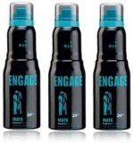 Engage Mate (Set of 3) Deodorant Spray  ...