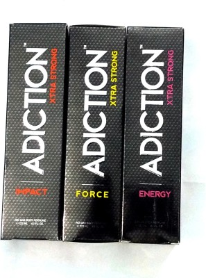 Adiction Impact Force Energy Body Spray  -  For Boys