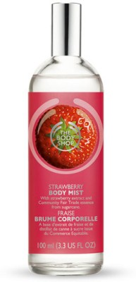 The Body Shop Strawberry Body Mist  -  For Women
