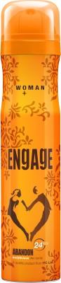 Engage Abandon Deodorant Spray  -  For Women