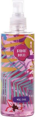 Pink Mud Wild Child Body Mist  -  For Girls, Women