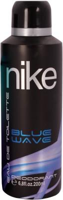 Nike Blue Wave Deodorant Spray - For Men