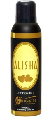 Hunaidi Alisha Deodorant Spray  -  For Women