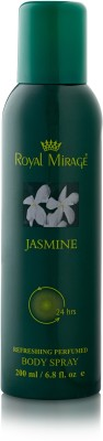 Royal Mirage Jasmine Body ? Deodorant Spray  -