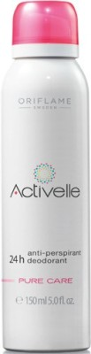 Oriflame Sweden Activelle Anti-perspirant 24h DeoPure Care Deodorant Roll-on  -  For Girls, Women