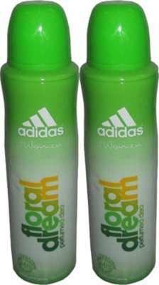 Adidas Floral Dream Deodorant Spray (Pack of 2) Body Mist - For Women(300 ml)