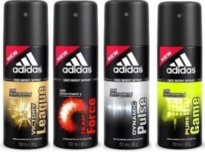 Adidas Deo Body Spray  -  For Boys, Men