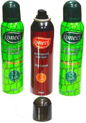 Konect Terminator,Volcano,Terminator Deodorant Spray  -  For Men