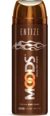 Moods Entize Deodorant Spray  -  For Men, Boys