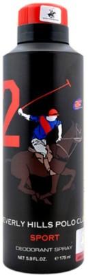 Beverly Hills Polo Club Deodorant Body Spray  -  For Men