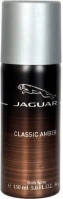 Jaguar Classic Amber Body Spray  -  For Boys, Men