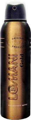 Lomani Gold Deodorant Spray  -  For Men