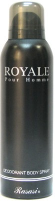 Rasasi Royal Pour Homme Deodorant Spray  -  For Men