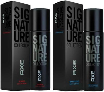 AXE SIGNATURE MYSTERIOUS INTENSE COMBO Deodorant Spray - For Boys, Men