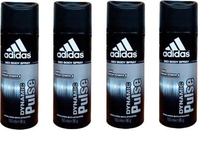 Adidas Dynamic Pulse Deodorant Spray  -  For Men(600 ml) at flipkart