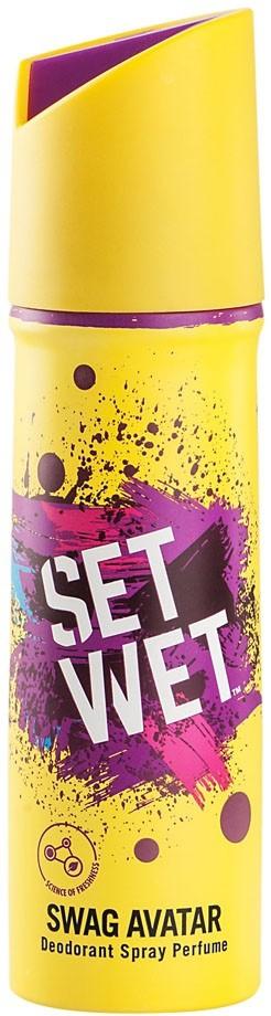Set Wet Swag Avatar Deodorant Perfume Body Spray  -  For Men(150 ml)