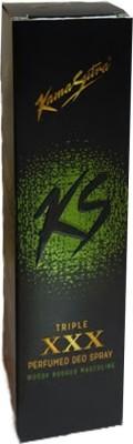 Kamasutra Triple XXX Perfumed Deo Deodorant Spray  -  For Boys