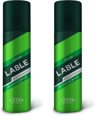 Midas Care Lable Deodorant - Green (Pack of 2) Deodorant Spray  -  For Men