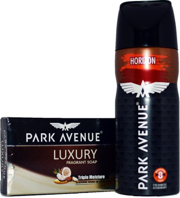 Park Avenue HORIZON ONE LUXURY SOAP Body Spray  -  For Boys, Men