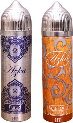 AZKA 1 FURUD::1 AUDE OUD Deodorant Spray  -  For Men, Women