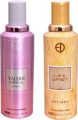 ESTIARA 1 VALERIE CRYSTAL::1 LIFE SPIRIT Deodorant Spray  -  For Men