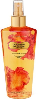 Victoria's Sectret Coconut Passion Fragrance Body Mist  -  For Women(250 ml) at flipkart