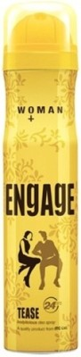 Engage Tease Deodorant Spray - For Women(150 ml)