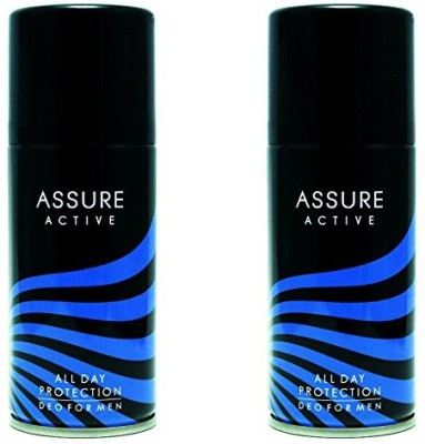 Assure Active Deodorant Spray  -  For Men, Boys