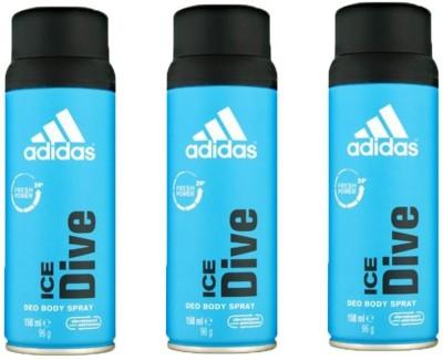 Adidas Ice dive Deodorant Spray  -