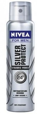 Nivea Silver Protect Deodorant Spray - For Men
