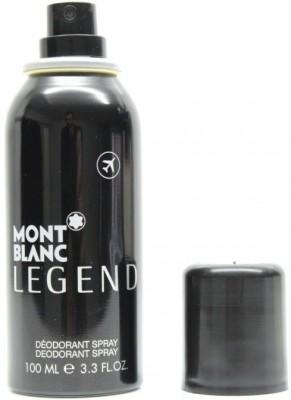 Mont Blanc Legend Deodrant Deodorant Spray  -  For Boys
