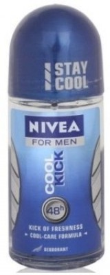 Nivea Cool Kick Deodorant Roll-on - For Men