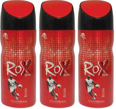 Rox LY-RUSH-004 Deodorant Spray  -  For Men