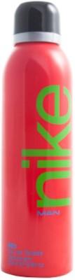 Nike Red Deodorant Spray - For Men