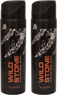 Wild Stone 2 Surge Deodorant Spray  -  For Men