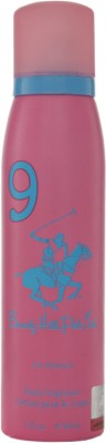 Beverly Hills Polo Club 9 Deodorant Spray - For Women  (150 ml)