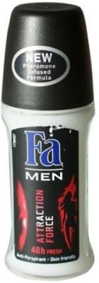 FA Attraction Force (48 Hrs Fresh) Deodorant Roll-on  -  For Men, Boys(50 ml)