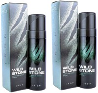 Wild Stone Iron Body Spray  -  For Men(240 ml)