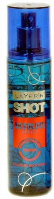 Layer Shot Absolute Body Spray - For Men