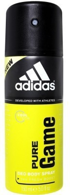 Adidas Pure Game Deodorant Spray - For Men