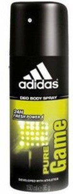 Adidas Pure Game Deodorant Spray  -  For Men