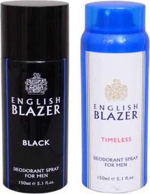 English Blazer 1 BLACK::1 TIMELESS Deodorant Spray  -  For Men