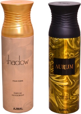 AJMAL 1 SHADOW FOR HER::1 AURUM Deodorant Spray  -  For Women