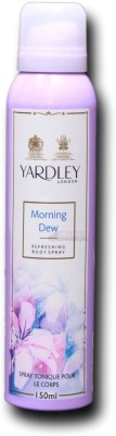 Yardley London Yardley London Morning Dew Body Spray - For Women(1 ml)