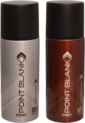 POINT BLANK 1 DEEP IMPACT::1 CANDID RIGHT Deodorant Spray  -  For Men