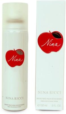 Nina Ricci Fresh Deodorant Spray  -  For Women