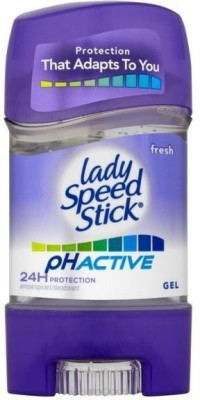 Lady Speedy Stick Fresh Ph Active 24h Protection Antiperspirant Deodorant Gel  -  For Women, Girls