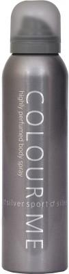 Colour Me Silver Sports Deodorant Body Spray  -  For Boys