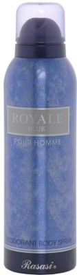 Rasasi Royale Blue Deodorant Spray  -  For Men